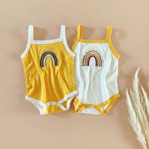 Rainbow Embroidered Bodysuits