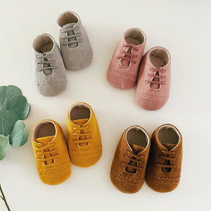 Suede Baby Oxfords - Little Boo Store