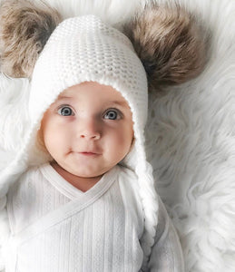 Double Pom Beanie - Little Boo Store
