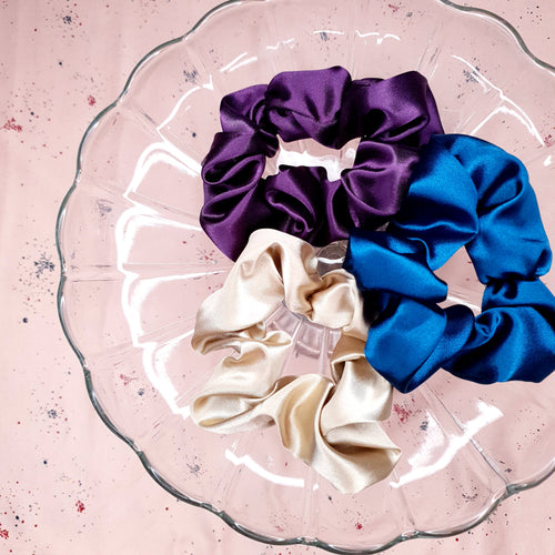 Scrunchies en satin