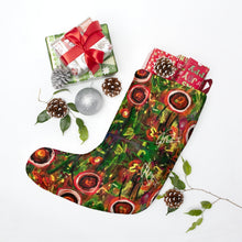 "Load image into Gallery viewer, Christmas Stockings, ""Wild Flowers"""