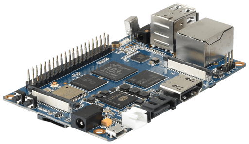 Banana Pi M3 8GB eMMC 1,8 GHz Octa-Core (inbyggd WiFi / BT4.0)