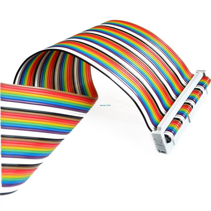 40 PIN RAINBOW GPIO 20cm CABLE FOR RASPBERRY Pi B+