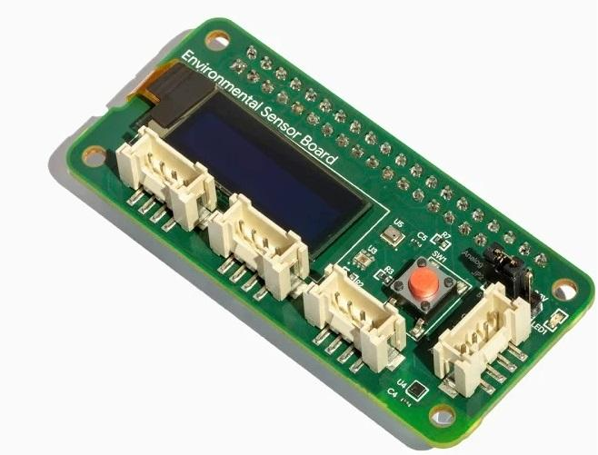 Google Environmental Sensor Board för Coral Dev och Raspberry Pi
