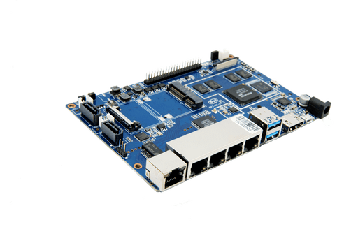 Banana Pi BPI-R2 Router Board med 2 GB RAM, 8 GB eMMC, Quad Core MT7623N