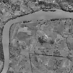 1936 Aerial Photo of Jindalee