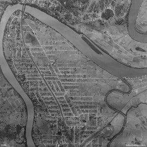 1946 Aerial Photo of Chelmer, Graceville, Sherwood and Tennyson
