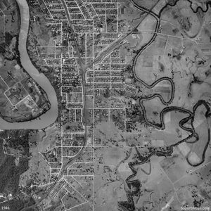 1946 Aerial Photo of Sherwood, Corinda and Oxley