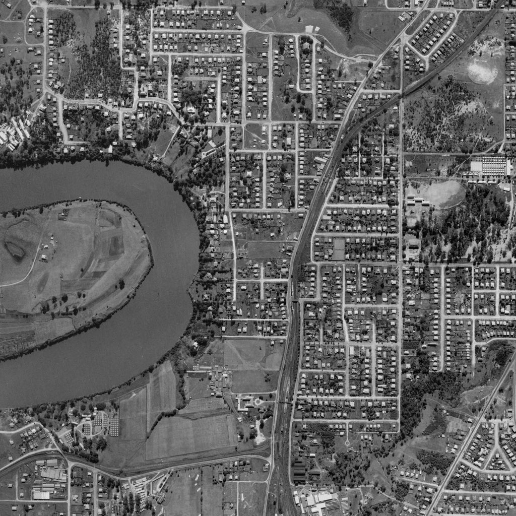 1946 Aerial Photo of Yeronga and Yeerongpilly area