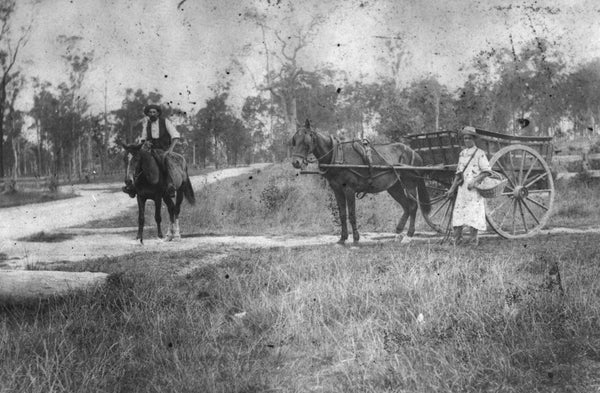 Mail Delivery on the Corner of South Pine Road and Gordon Parade in Everton Park, 1910