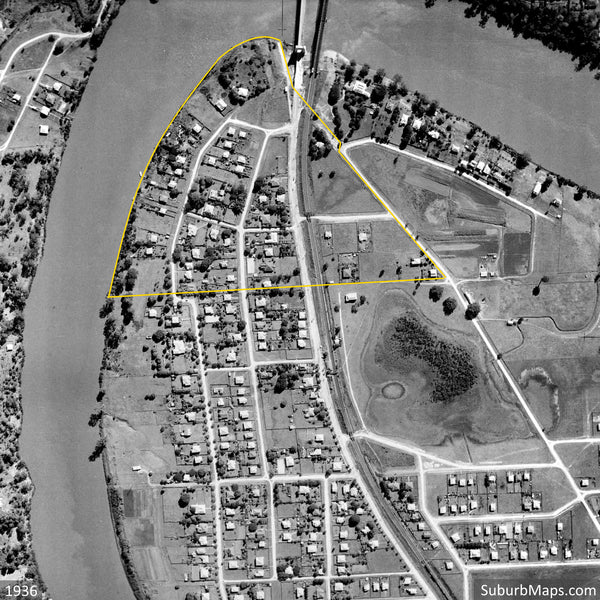 1946 Aerial Photo of Township of Riverton