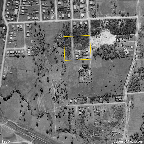 1936 Aerial Photo of Grand View Estate