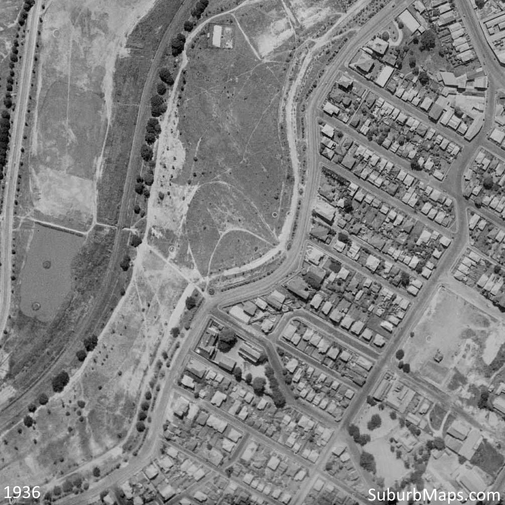 1936 Gordon Park - Aerial Photo