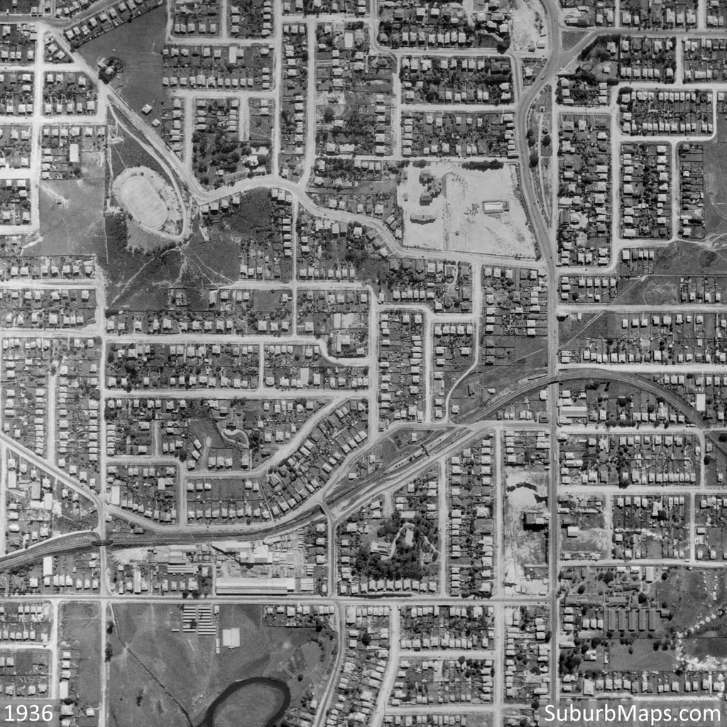 1936 Windsor - Aerial Photo