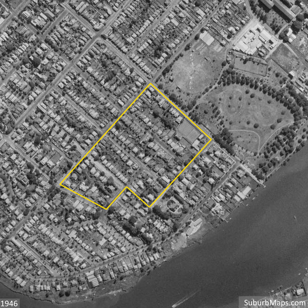 1946 Aerial Photo of the Turner Estate