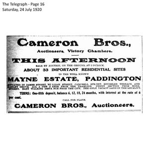 1920 Paddington - Mayne Estate