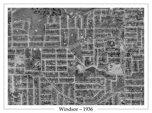 1936 Windsor - Aerial Photo - Eildon Hill