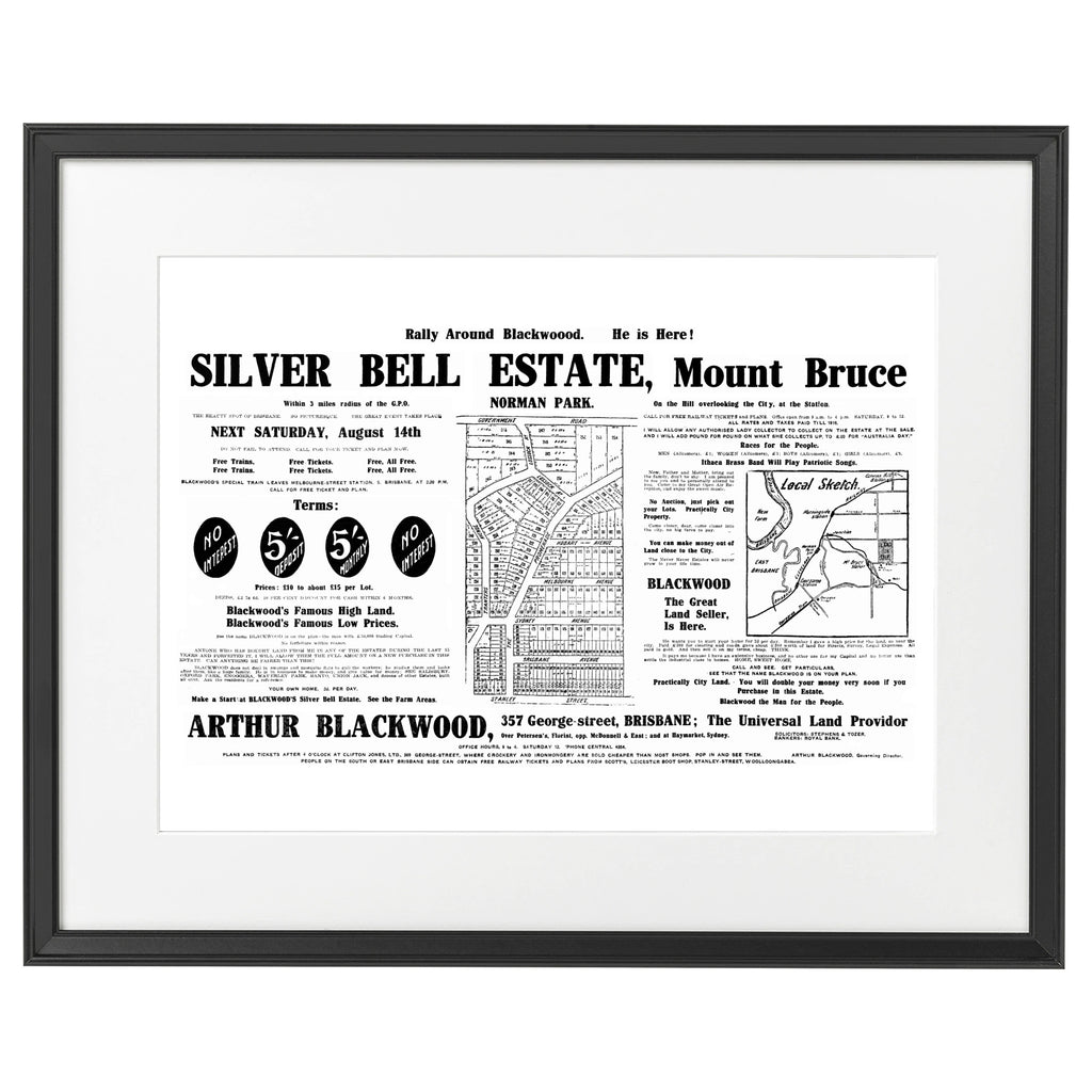 1915 Camp Hill - Silver Bell - Mt Bruce
