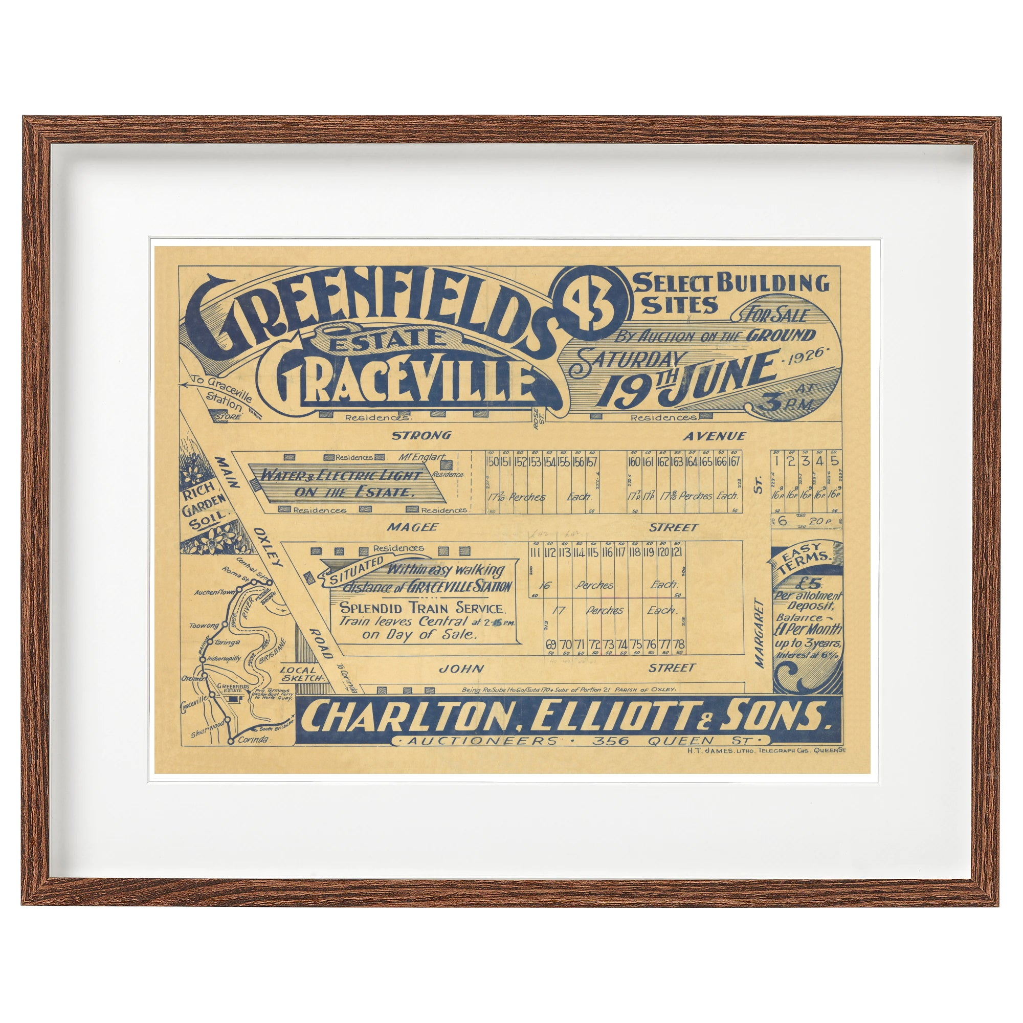 1926 Graceville - Greenfields Estate