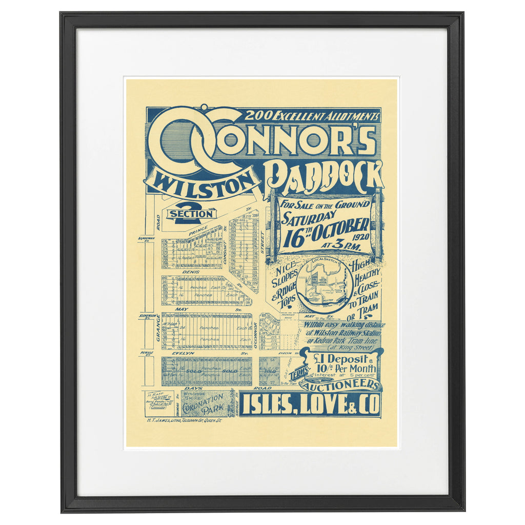 1920 Grange - O'Connor's Paddock - Section 2