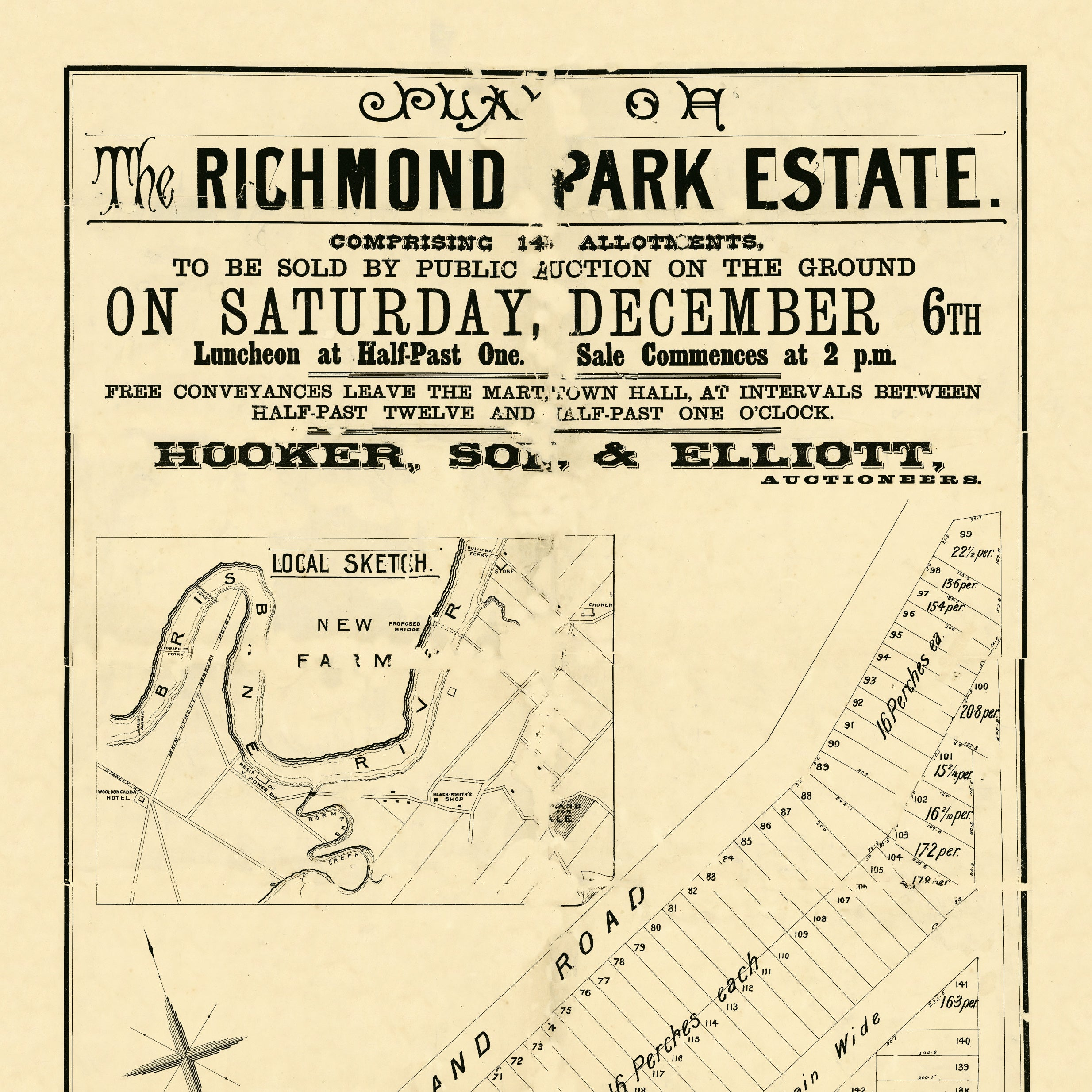1884 Morningside - Richmond Park Estate