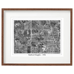1936 Stafford Heights - Aerial Photo - Webster Road