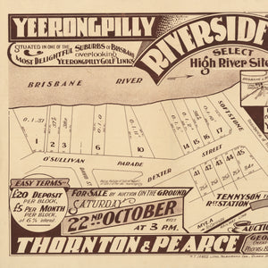 1927 Tennyson - Yeerongpilly Riverside