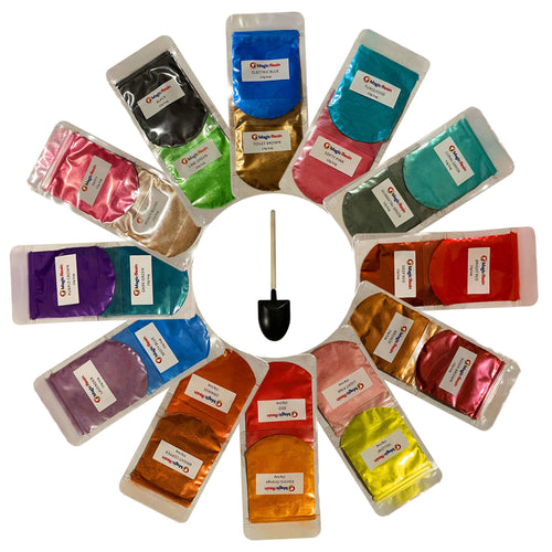 Mica Powders - Set of 24 - 10 Grams per Color (24x10g)
