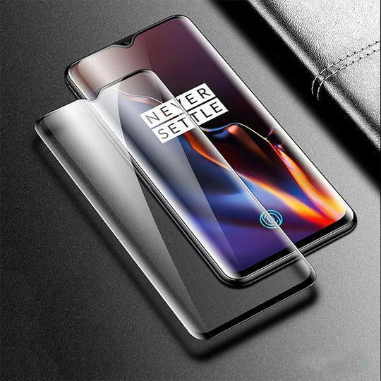 OnePlus 6T Ultra Clear 6D Tempered Glass Screen Protector