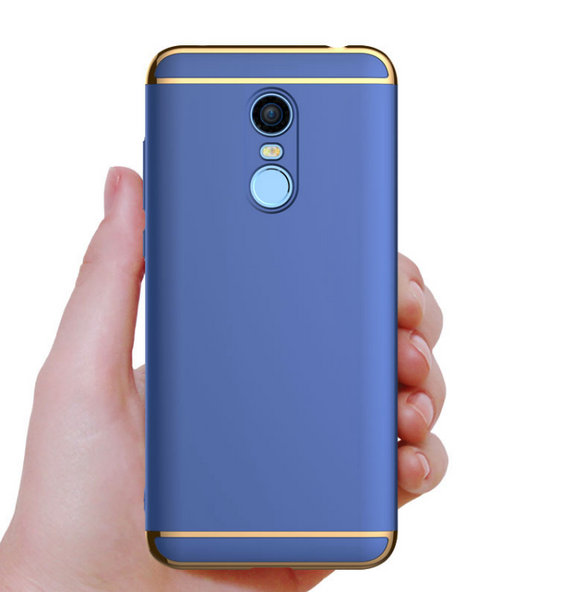 Redmi Note 5 Luxury Metal Plating Back Cover