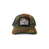 Rough House - Trucker Hat (Camo/Grey)