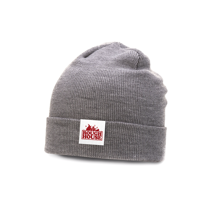 Rough House - Beanie (Grey/Red)