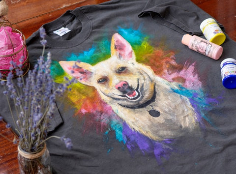 get a dog t-shirt on mother's day