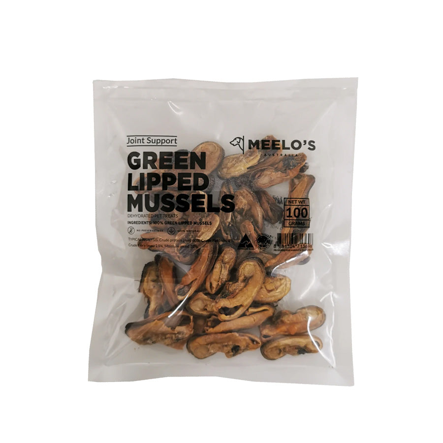 Green Lipped Mussels (100g)