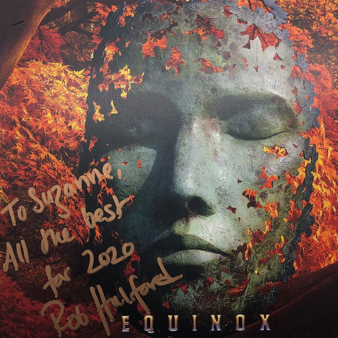 Only 100 autographed Equinox CD's