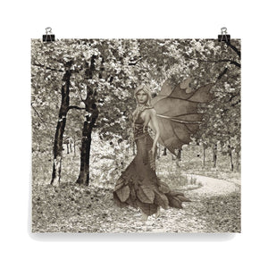 Shades of Autumn fairy art collection