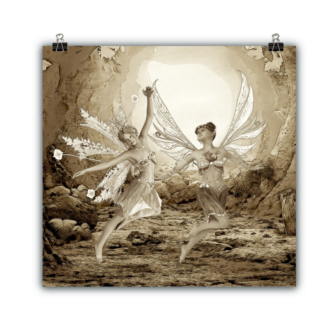 Tales of Winter Fairy Art Collection