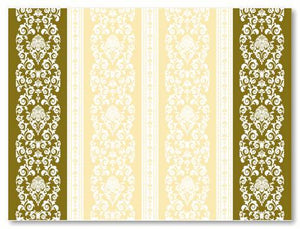 Tischsets 400x300mm, Pascal  (gold/creme), 600 St.