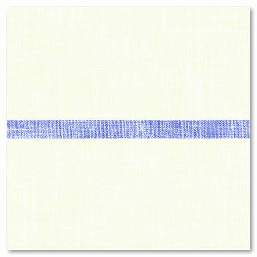 Servietten Softpoint 400x400mm 1/4 Falz, Joe  (creme/blau), 600 St.
