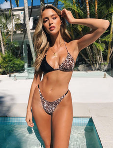 Leopard Tease Two-piece