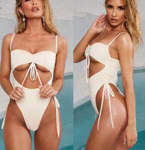 """Chill out bae"" one piece - Multiple colors available"