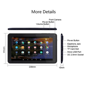 9 Inch Tablet , Android 6.0 With 32GB TF Card Slot
