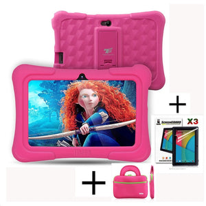 7 inch Kids Tablets ,Quad Core Android 5.1 +Tablet bag+ Screen Protector