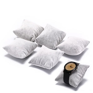 5pcs  Velvet & Cotton  Watch Pillow
