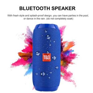 Bluetooth Bass Speaker Portable