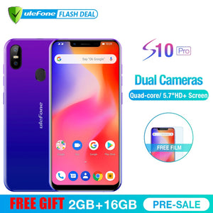 Smartphone Android 8.1  Quad Core 2GB RAM 16GB ROM 16MP+5MP Rear Dual Camera