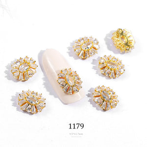 Top Quality Luxury Zircon Crystal Rhinestones For Nails