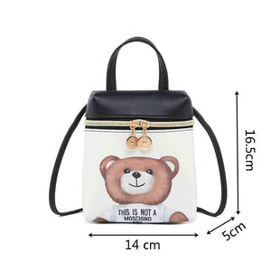 Cartoon Women Messenger Bag