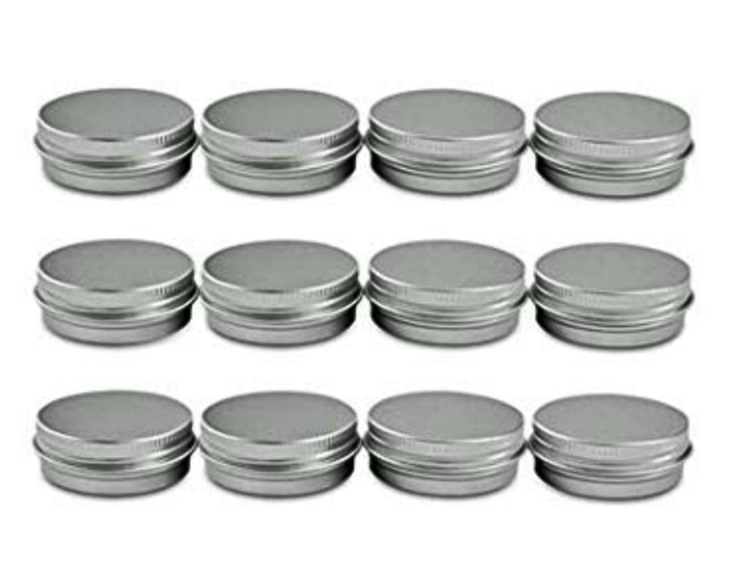 Rows of Aluminium tins