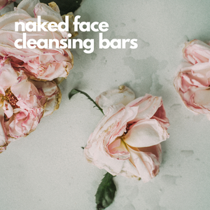 naked face cleansing bars